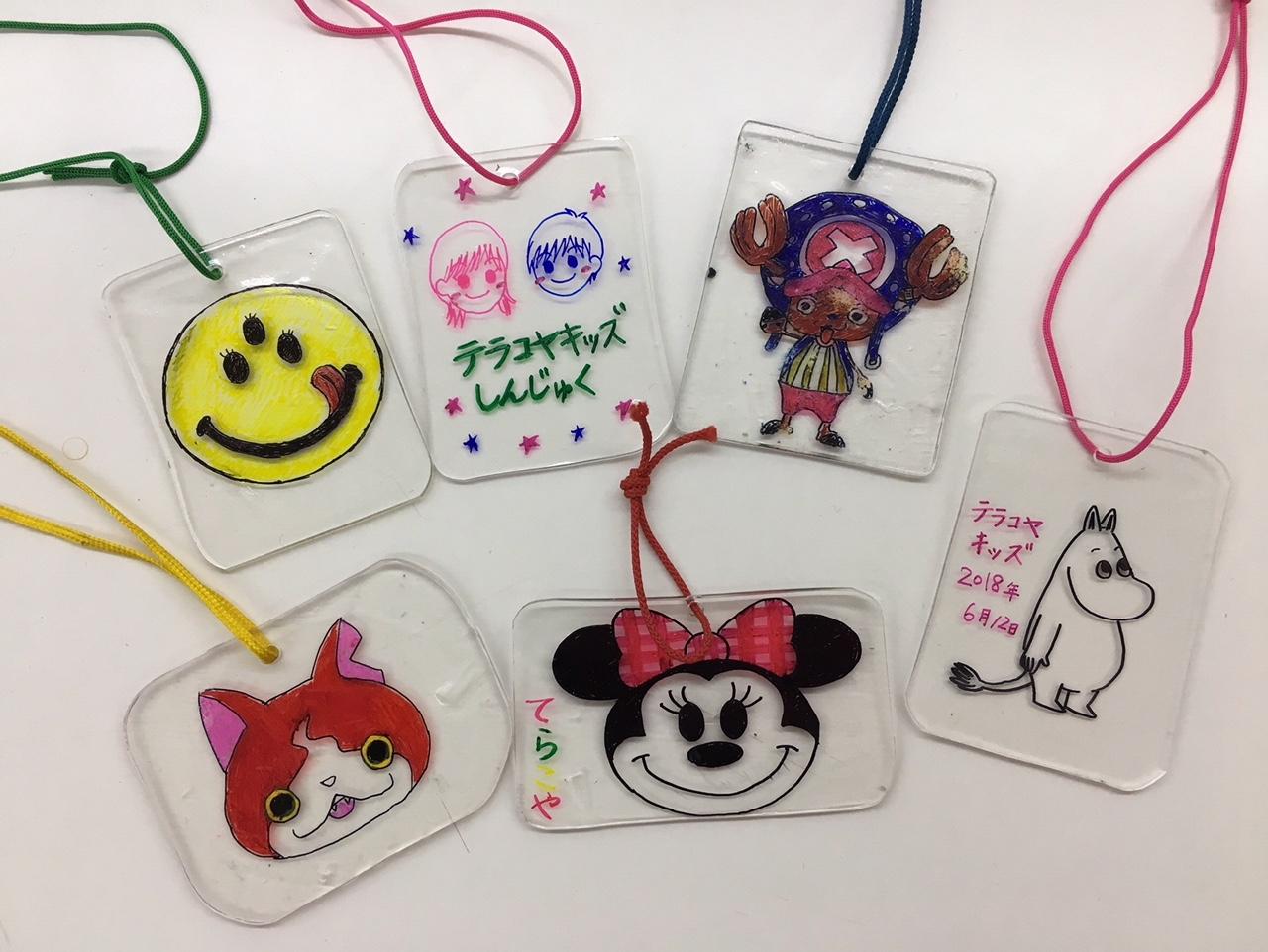 H306月新宿教室ブログプラバン工作でプレゼント テラコヤキッズ